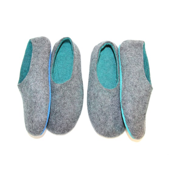Mens wool slippers