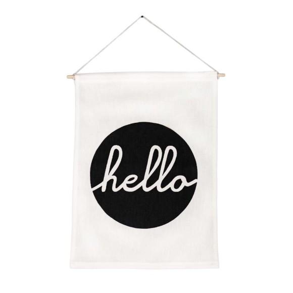 Hello Wall Banner