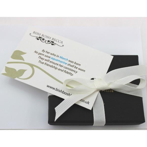 birthstone gift wrap
