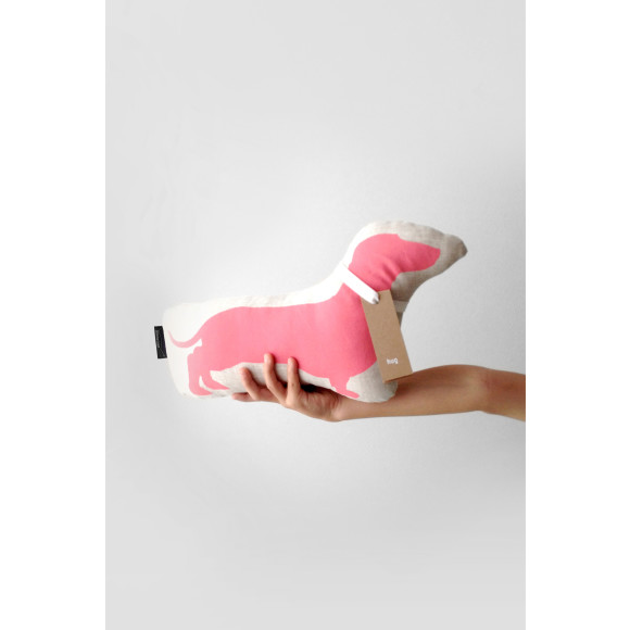 Dachshund in Pink