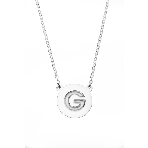 Sterling silver rhodium plated