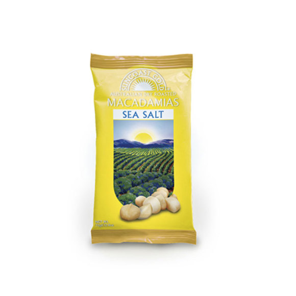 Suncoast Gold Sea Salt Macadamias
