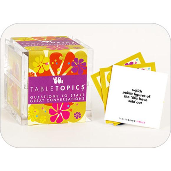 60's Decade TableTopics