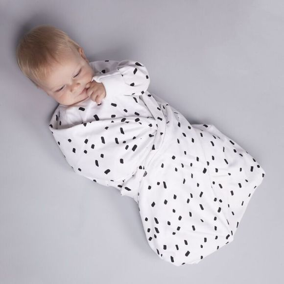 Swaddling your baby can help keep them calm and sleep well
