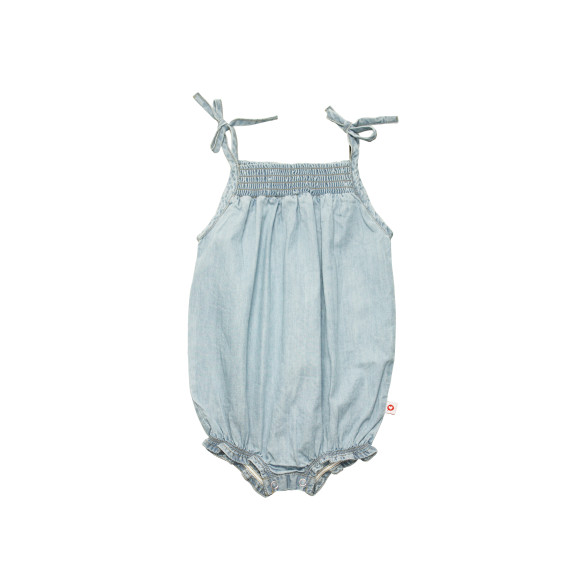 Chambray playsuit Mooce