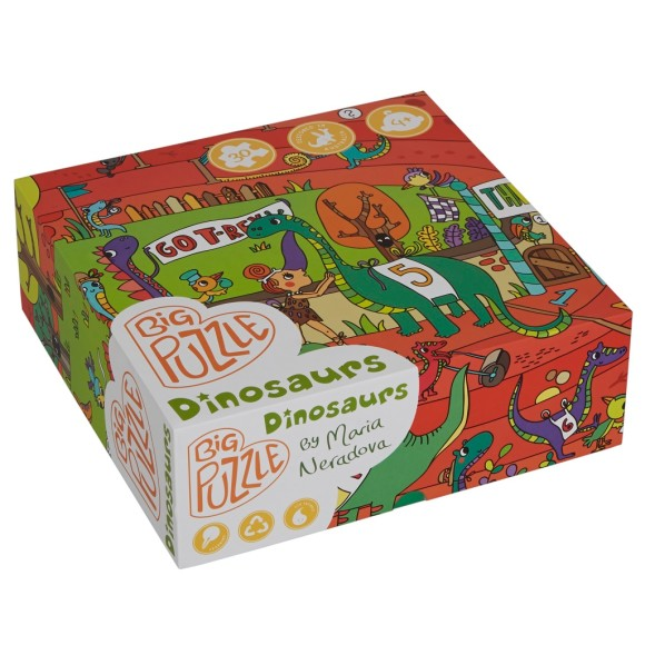 Dino boxed puzzle