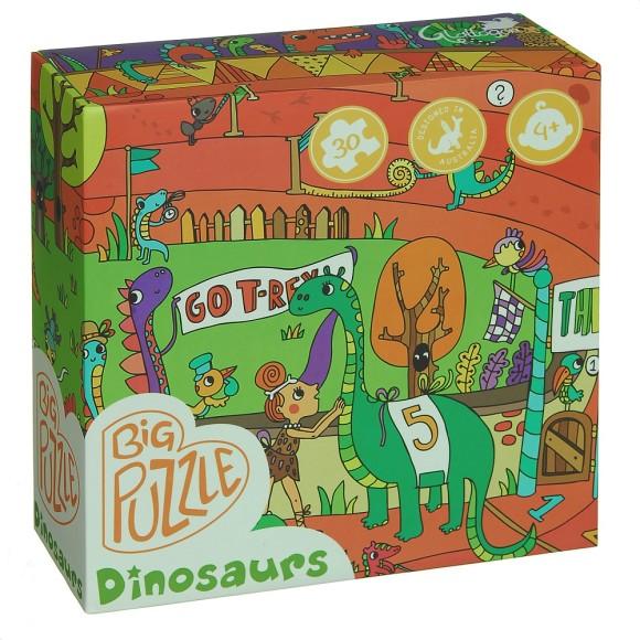 floor puzzle box
