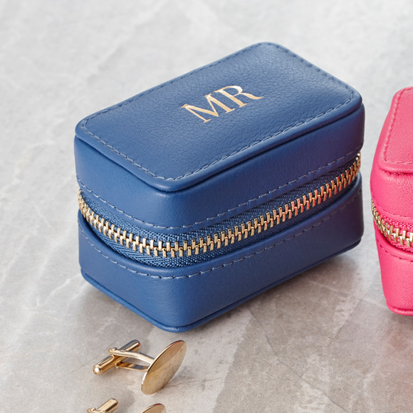 MR Cufflink Box Blue