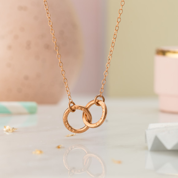 18ct rose gold plate