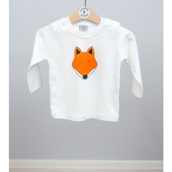 baby long sleeve fox t shirt