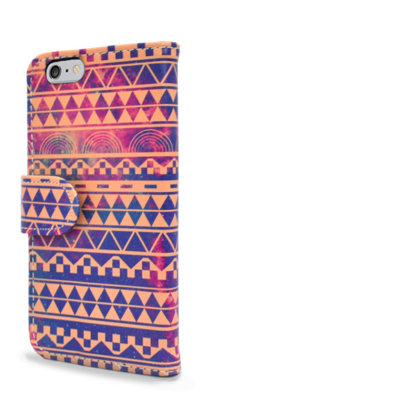 Aztec Print Smartphone Wallet Case Back