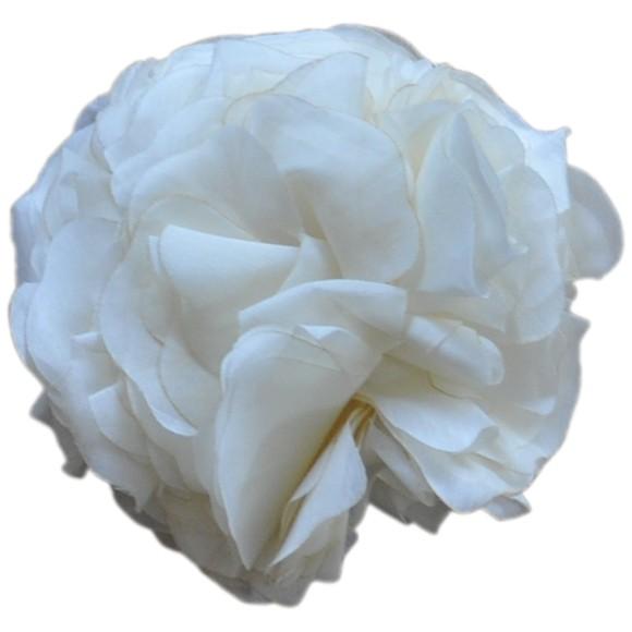 Flower Clip White