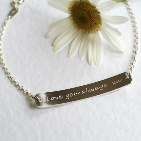 Reverse of bracelet