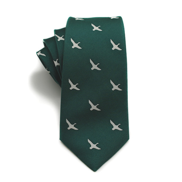 Duck Hunt Silk Tie