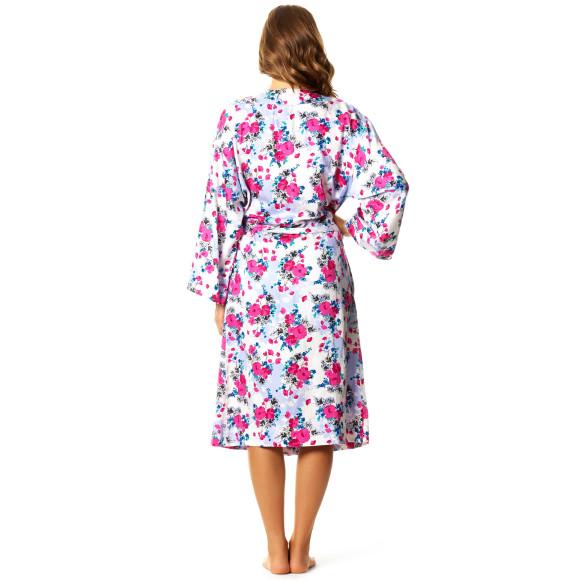 Pink Poppy Robe