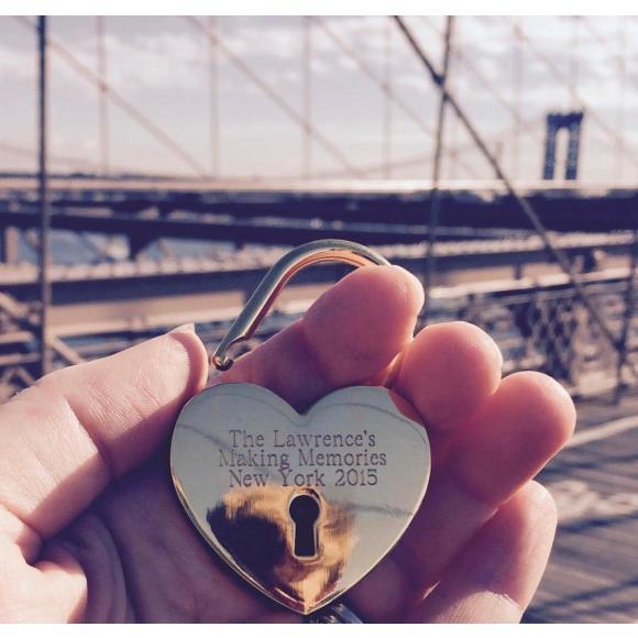 Personalised Love Lock