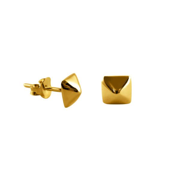 Stud Earrings gold