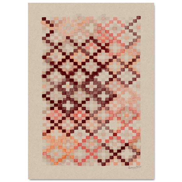 Copper Pink 50x70cm