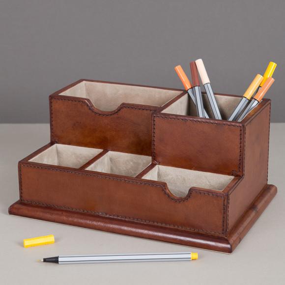 Leather Desk Organsier