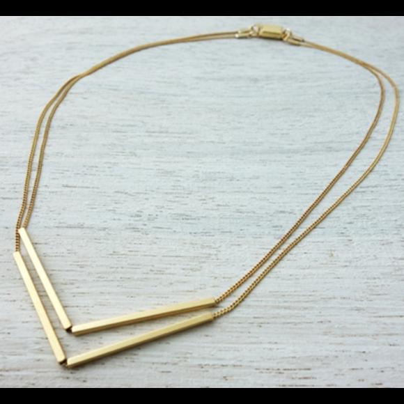 Gold Skipper Necklace