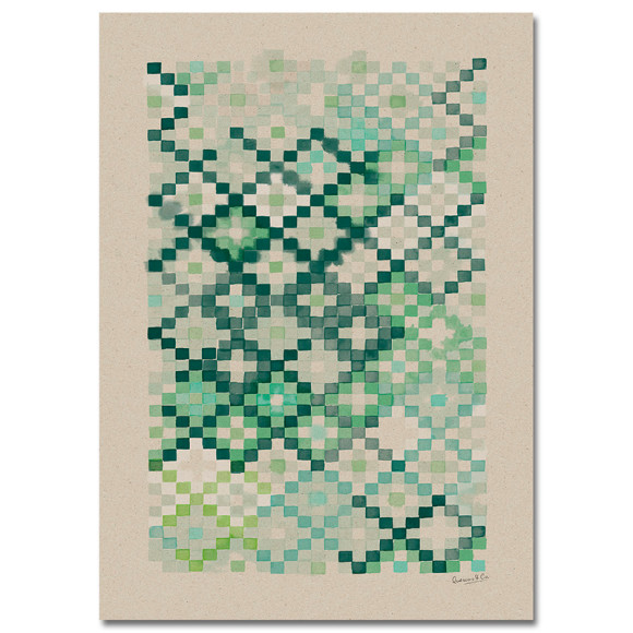 Emerald 50x70cm