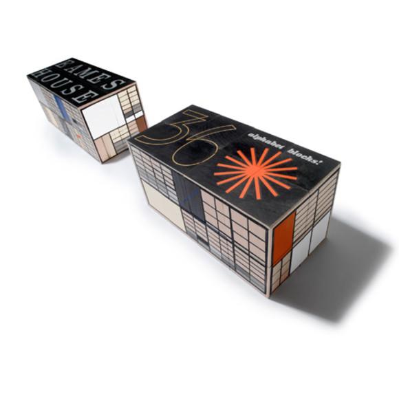 Eames wooden blocks