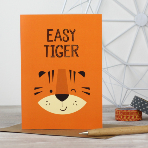 Easy Tiger card