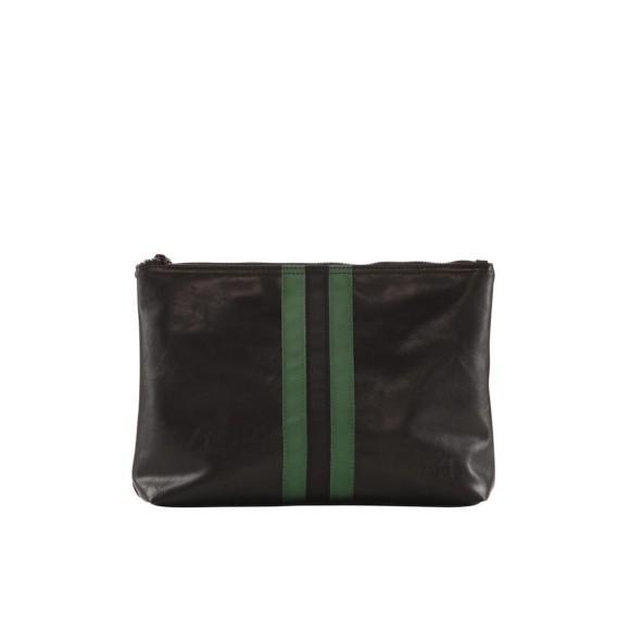 Black green stripe