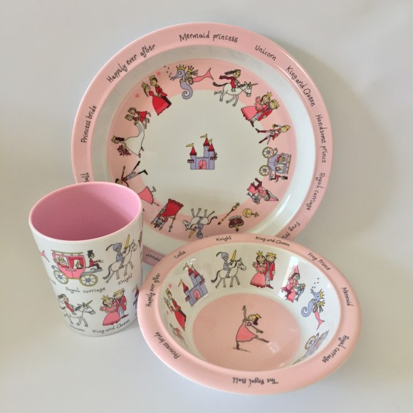 Tyrrell Katz Princess Melamine Dinner Set