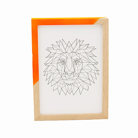 Zap Frame - Orange