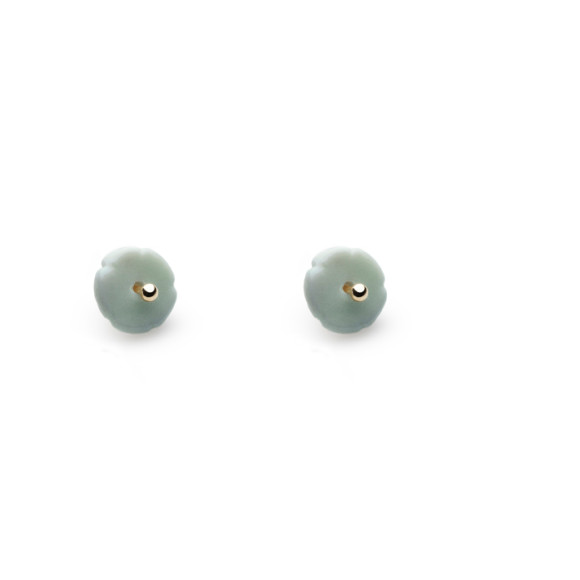 Grey Elements Flower Studs