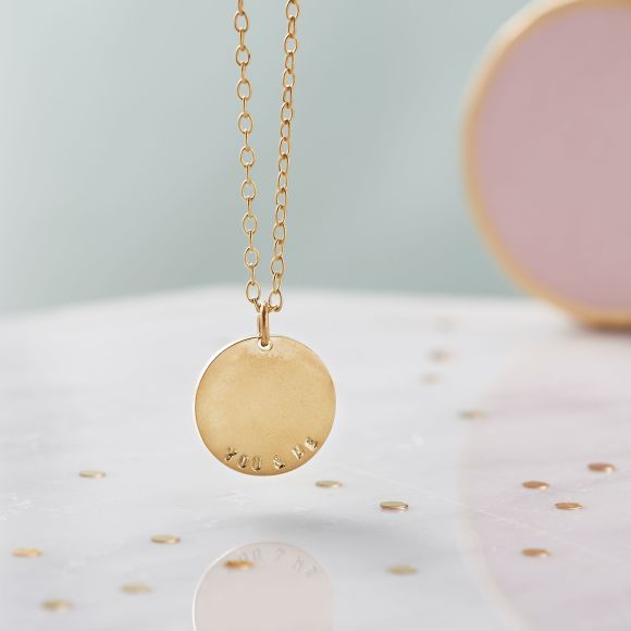 18ct Yellow Gold plate