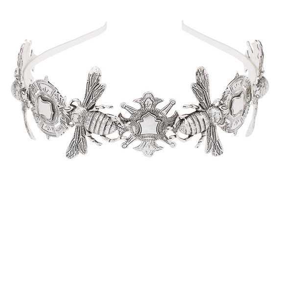 The Queen Bee Headpiece Silver