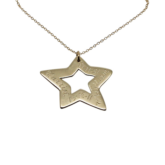 Engraved Star
