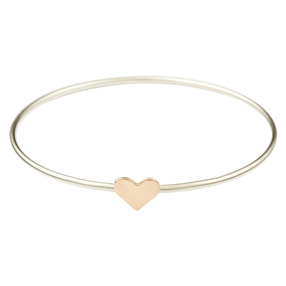 yellow gold heart