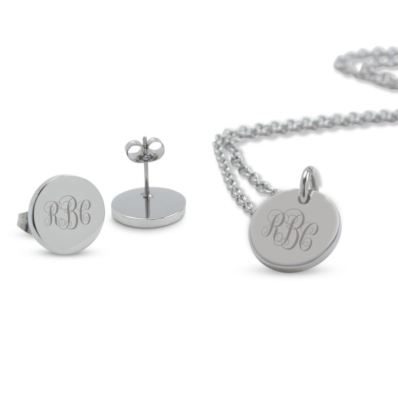 Lucy Set: features earrings & pendant set (save $55)