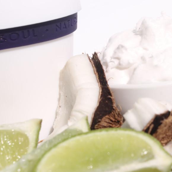 Coconut & Lime Salt Mousse