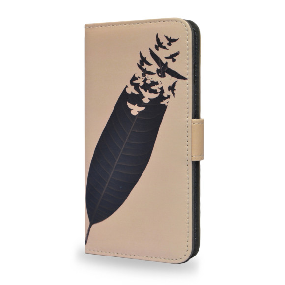 Leave Leaf Left Smartphone Wallet Case
