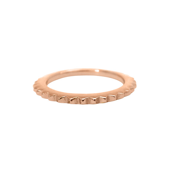 stud eternity ring rose gold