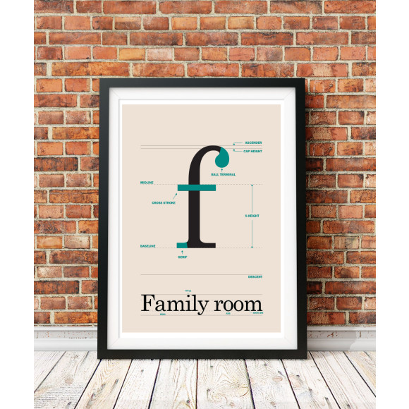 Family room poster