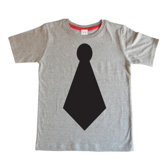 Tie Design Chalkboard T-shirt