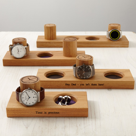 MijMoj cufflink and watch stand range