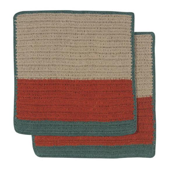 Sasha Crochet Dishcloths Autumn