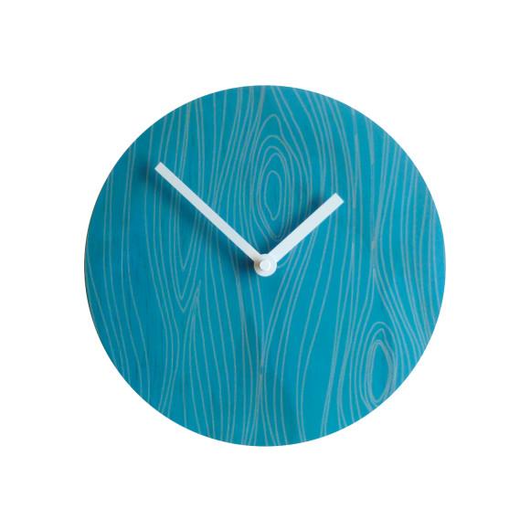 Faux bois 1 clock