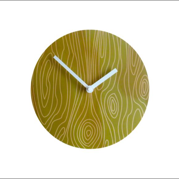 Faux bois 2 clock
