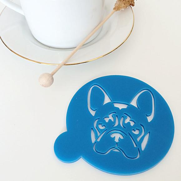 Blue Stencil