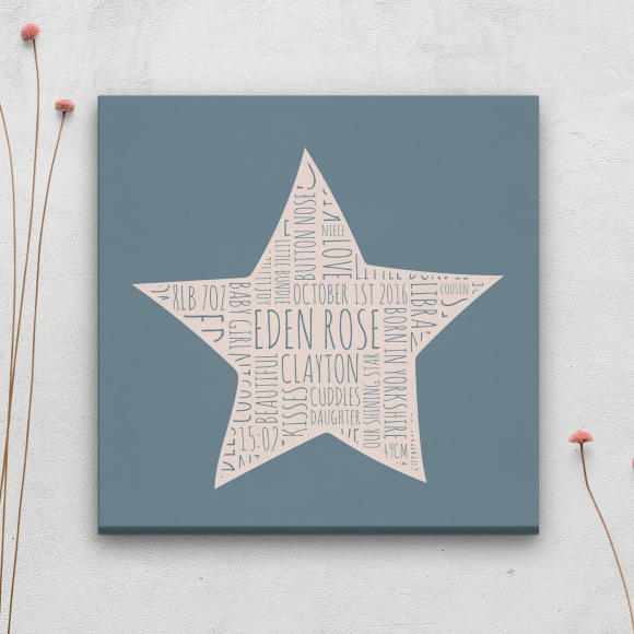 Canvas Print - Cool Turquoise