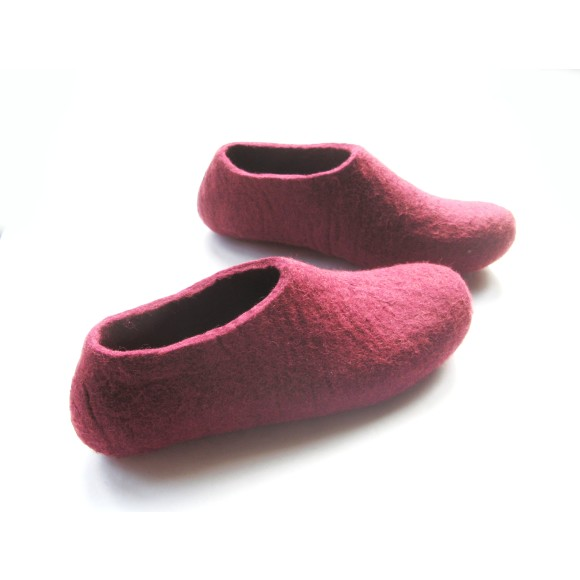 marsala slippers