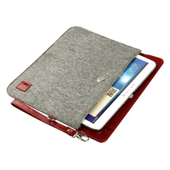 Tablets sleeve red