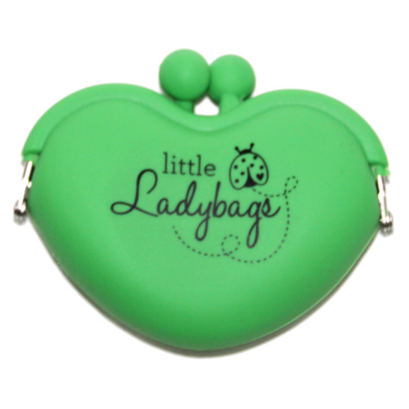 Green Heart Purse